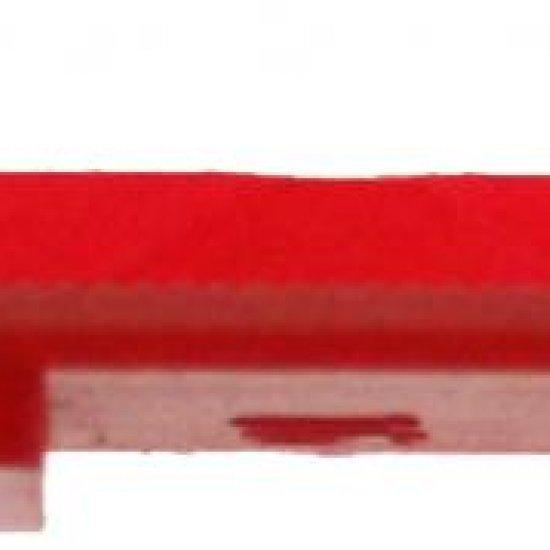 Spessore Vetratura Per Incollaggio Vetro 3mm Rosso Heicko Segatori