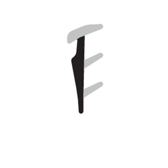 Guarnizione Fermavetro Complastex Spessori Sottili 25mm Scatola Bobina