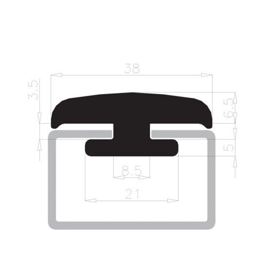 Offerte pazze Comparatore prezzi  Guarnizione Cavalletti Portavetro Complastex 10mm Bianca Scatola Bobin  il miglior prezzo