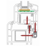Viti Ferramenta Power Speed TX Pvc Varie Dimensioni 2000pz Heicko Segatori