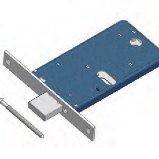 Offerte pazze Comparatore prezzi  Catenaccio 871f22 Omec Serratura Per Fascia Meccanica Alluminio  il miglior prezzo