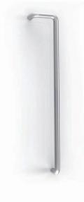 Maniglione J Tropex Inox Satinato Ø 32mm