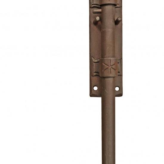 Miglior prezzo 1891 CATENACCIO VERTICALE GALBUSERA IN FERRO BATTUTO VARIE DIMENSIONI