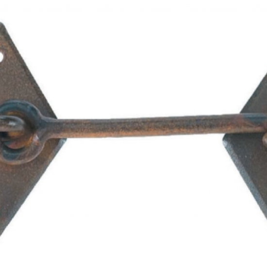2132 Chiavistello Galbusera In Ferro Battuto Varie Dimensioni