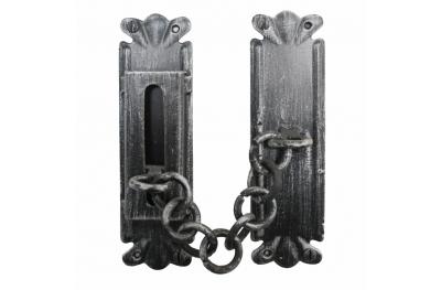 2158 Catena di Sicurezza Artigianale per Porte in Ferro Battuto Lorenz Ferart