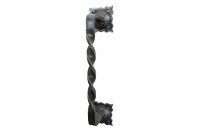 2256 Maniglione Stile Rinascimentale in Ferro Battuto per Porte Lorenz Ferart