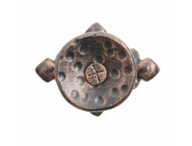 2261 Pomolo Stile Medievale in Ferro Battuto per Porte Lorenz Ferart