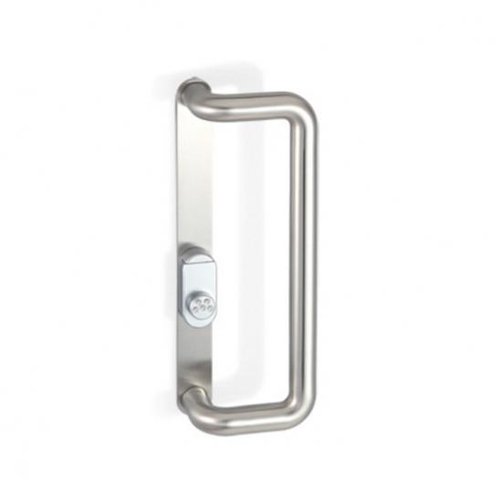 Offerte pazze Comparatore prezzi  2ct246003544 Maniglione Con Placca Sicurezza E Protezione Cilindro  il miglior prezzo