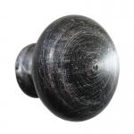 3176 Maniglia Pomolo Rotondo in Ferro Battuto per Mobili Lorenz Ferart