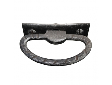 3179 Maniglia Stile Rustico in Ferro Battuto per Mobili Lorenz Ferart