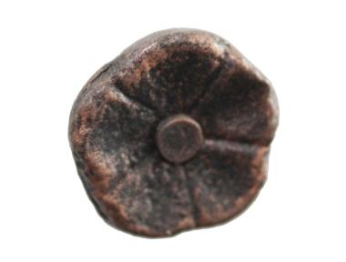 3184 Pomolo a Forma di Fiore in Ferro Battuto per Mobili Lorenz Ferart