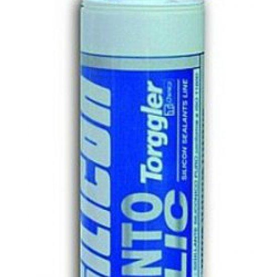Silicone Torggler Serramento Metallic Grigio Sitol Silicon Cart 310ml
