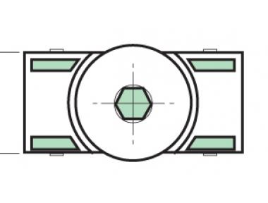 Distanziatore Proni Rapid-Block Serie Giap Posa Serramento
