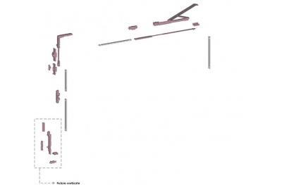 Ribantatre Savio Gruppo Base R Braccio Standard Fulcro Verticale