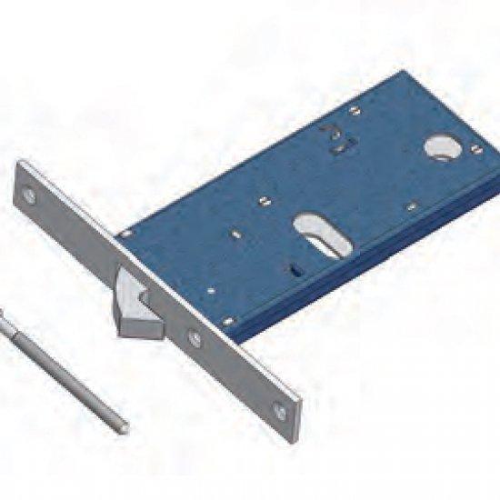 Gancio 786f22 Omec Serratura Meccanica Per Fascia Alluminio