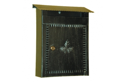 6001 Cassetta Postale in Ferro Battuto Artigianale Porta Buste e Giornali Lorenz