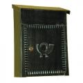 6003 Cassetta Postale in Ferro Battuto Artigianale Porta Buste e Giornali Lorenz