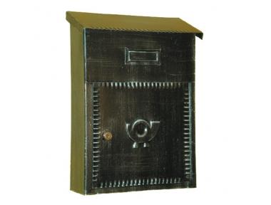 6010 Porta Lettere in Ferro Battuto Artigianale per Buste e Giornali Lorenz