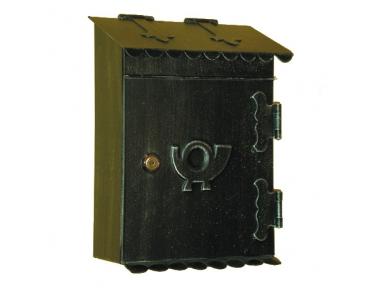 6013 Porta Lettere in Ferro Battuto Artigianale per Riviste e Buste Lorenz