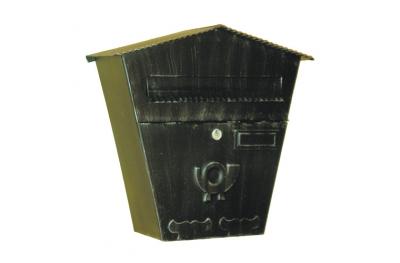 6022 Cassetta Postale in Ferro Battuto Artigianale Porta Buste e Giornali Lorenz