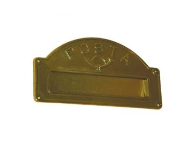 6033 Buca per Lettere Classica in Ferro Battuto Artigianale Lorenz Ferart
