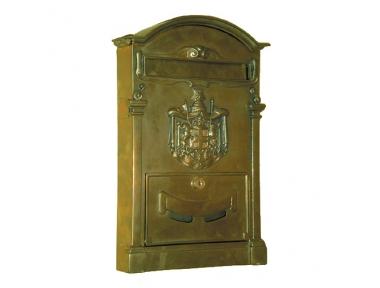 6036 Cassetta delle Lettere per Palazzo Storico Elegante in Ferro Battuto Lorenz