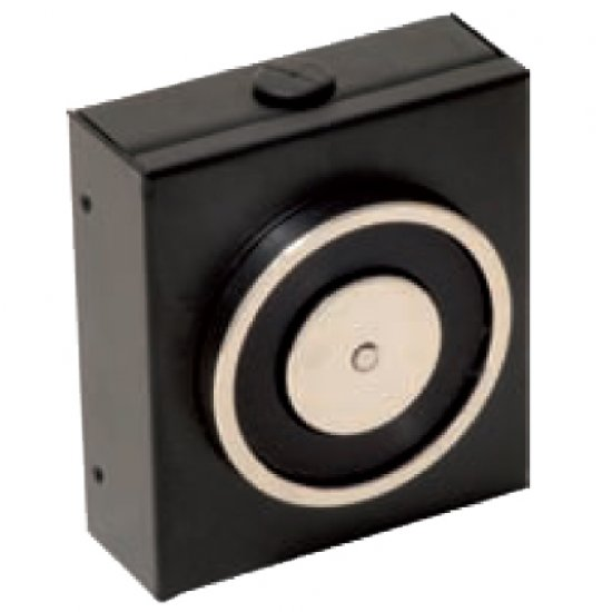 Elettromagnete Di Trattenuta Nero 140 Kg Senza Pulsante Di Sblocco 181