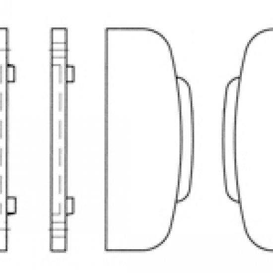 Magnete Ferma Imposta Ep Vit Nero Garantisce Bloccaggio Alla Parete