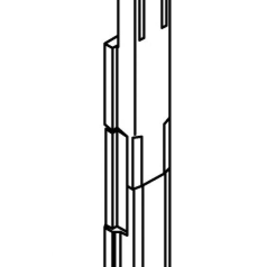 Catenacci Per Finestre Giesse Giap Serie R40 Nylon Nero Coppia