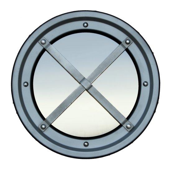 Offerte pazze Comparatore prezzi  Inferriata Oblò Metallici Acciaio Inox Tipo C Rialzata Aisi 304  il miglior prezzo