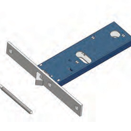 Gancio 396f22 Omec Serratura Per Fascia Meccanica Alluminio