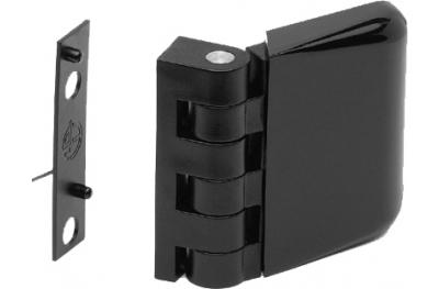 Cerniera 48mm Spessore Complanare 1mm Chiusura Serramento Media Esinplast