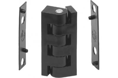 Cerniera 48mm Spessore Complanare 1mm Chiusura Serramento Mini Esinplast