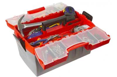 911 Plano Cassetta Portautensili con Portaminuterie Incorporato Design Line