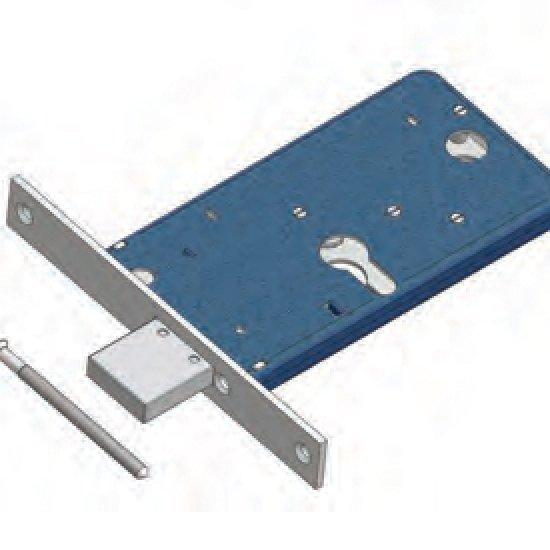 Catenaccio 1771f22 Omec Serratura Per Fascia Meccanica Alluminio