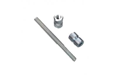 Kit Fissaggio Savio Doppio per Maniglione Excalibur PVC
