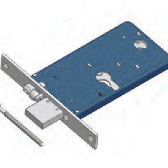 Catenaccio E Rullo Regolabile 1775 Omec Serratura Per Fascia Meccanica