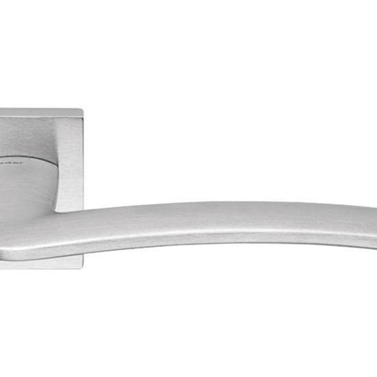 Ala Cromo Satinato Maniglia Moderna Per Porta Design Elegante Italiano