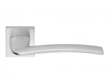 Ala Cromo Satinato Maniglia Moderna per Porta Design Elegante Italiano by Linea Calì