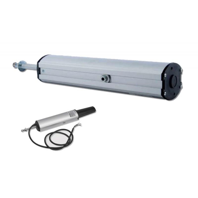 Aprimatic Attuatore a Stelo ST 450N 180-300mm con Accessori di Fissaggio
