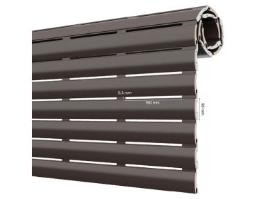 AriaLuce 50 Pinto Avvolgibile in Alluminio con Poliuretano Alta Densità