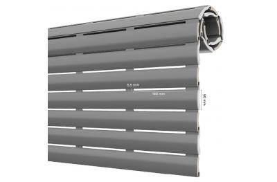 AriaLuce 50 Pinto Tapparella in Alluminio Coibentato Media Densità