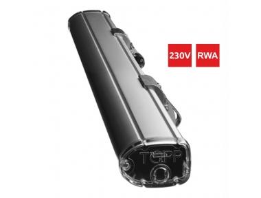 Attuatore a Catena C160 RWA 24V per Sistemi Evacuazione Fumo e Calore e Scelta Corsa 360mm 600mm 1000mm Topp