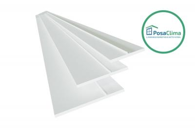 Battuta per Controtelaio Finestre PVC Teknica PosaClima