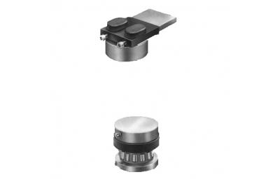 Cerniera Fulcro Acciaio Inox Ø48 Cardine con Cuscinetto Savio Regolabile