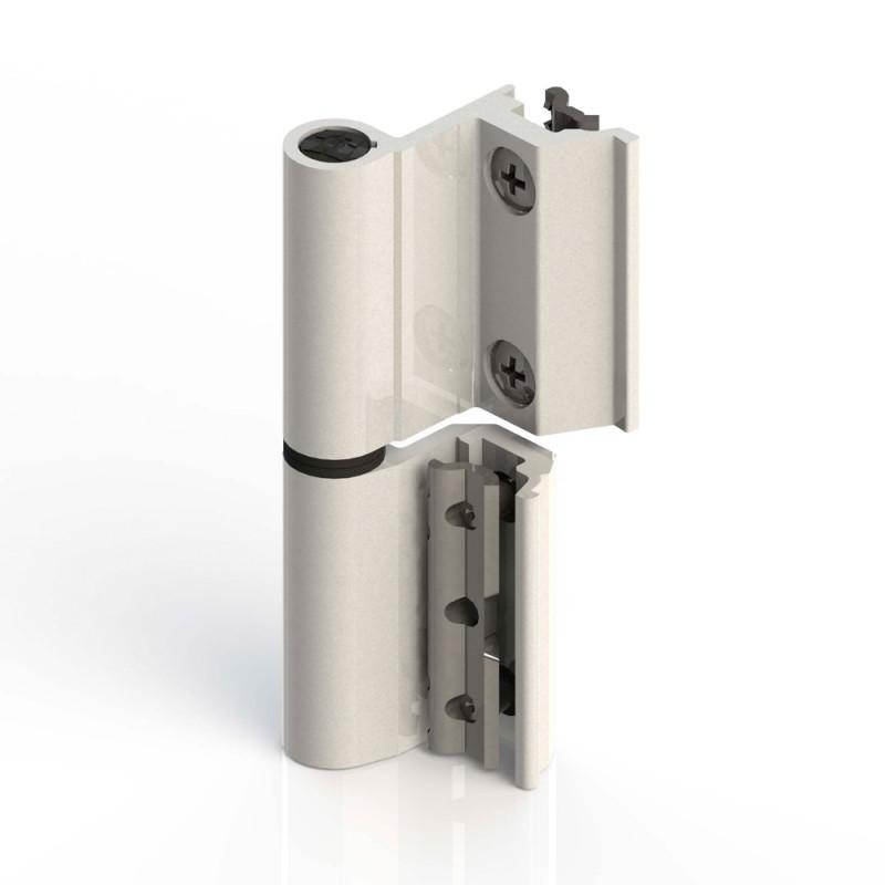 Cerniera Giesse Flash Base Serie R per Alluminio