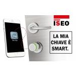 Cilindro Libra Standard Lettore e Pomolo Argo App Iseo Apertura con Smartphone