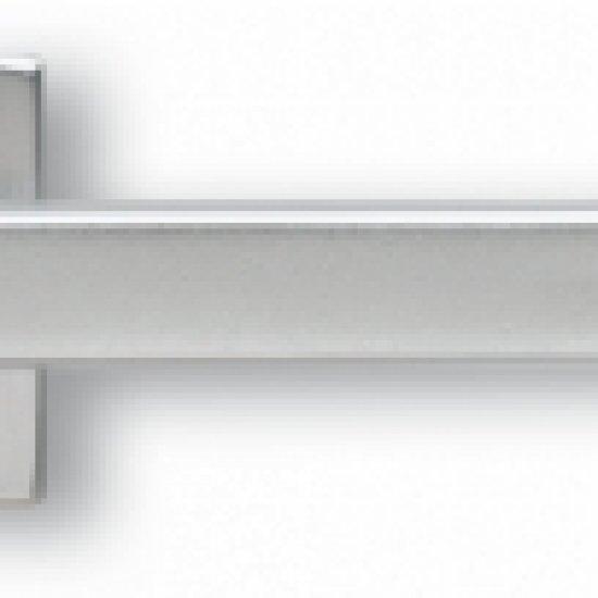 Coppia Di Maniglie Ghidini Modello Archimede Argento F1 Sat Rosette E