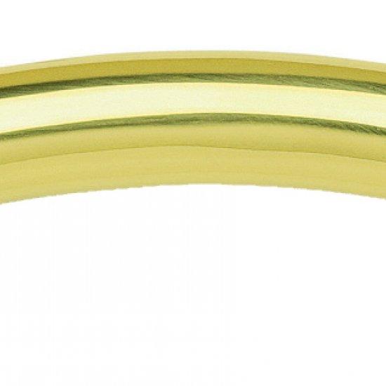 Coppia Di Maniglie Ghidini Modello Arco Olv M1 Con Rosette E Bocchette