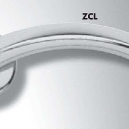Coppia Di Maniglie Ghidini Modello Bella Zcl Con Rosette E Bocchette